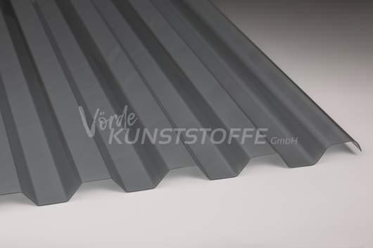 Polycarbonat Trapezplatten 76/18 silber metallic