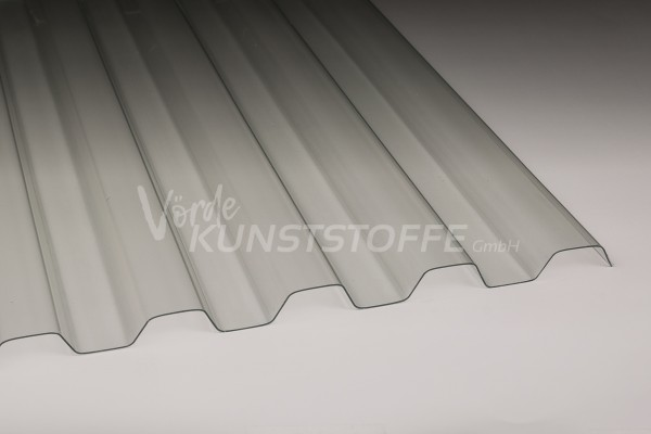 Sollux® Trapezplatten Lichtplatten 70/18 farblos hagelsicher