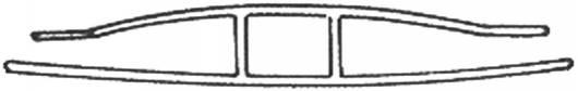 H-Profil aus Polycarbonat für 16mm Stegplatten