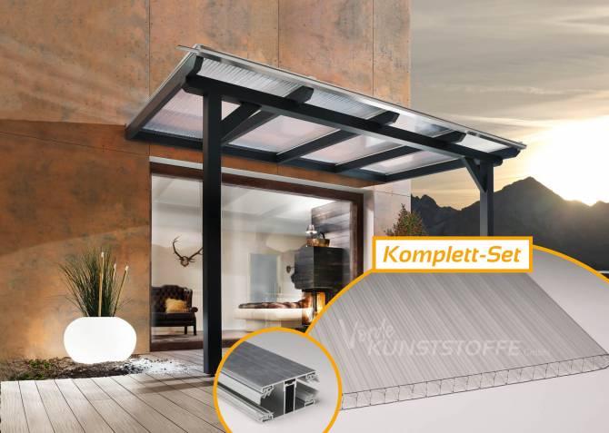 Doppelstegplatten Komplettset X-Struktur klar