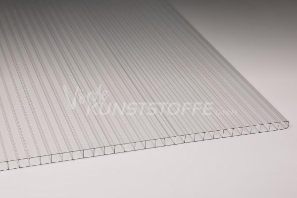 Stegplatten Polycarbonat farblos 10mm