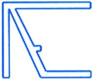 Alu-Tropfkantenprofil für 10mm Hohlkammerplatten