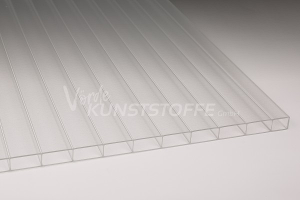 Stegplatten Acrylglas 16/32 Innenstruktur farblos (16mm)