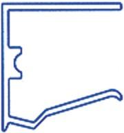 Alu-Abschlussprofil für 25mm Stegplatten