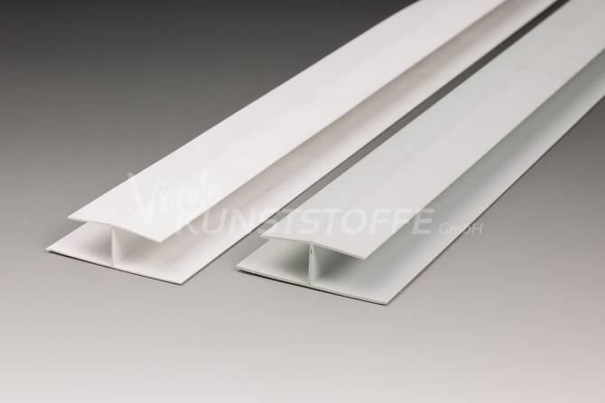 H-Profil für Paneel 16/200 grau 6000mm
