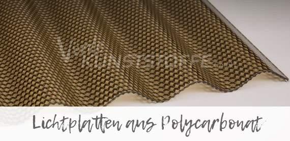 Praktische Lichtplatten aus Polycarbonat online kaufen