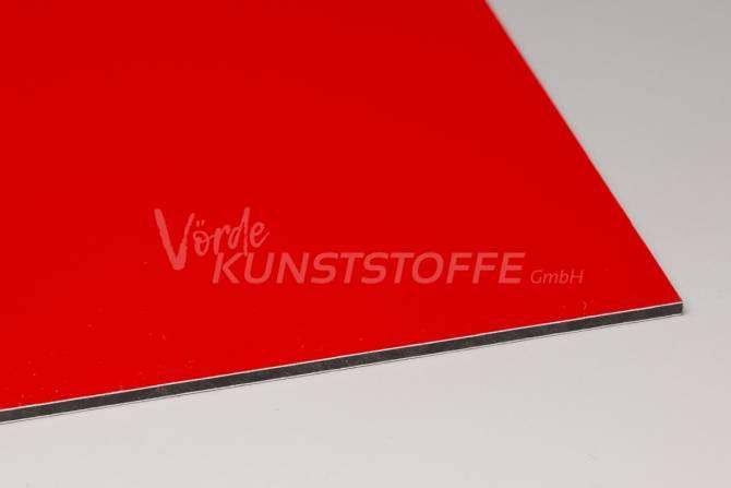 Alu-Verbundplatten 3 mm rot