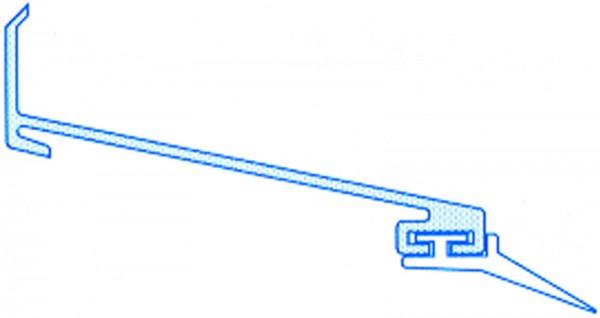 Alu-Wandanschluss für Stegplatten