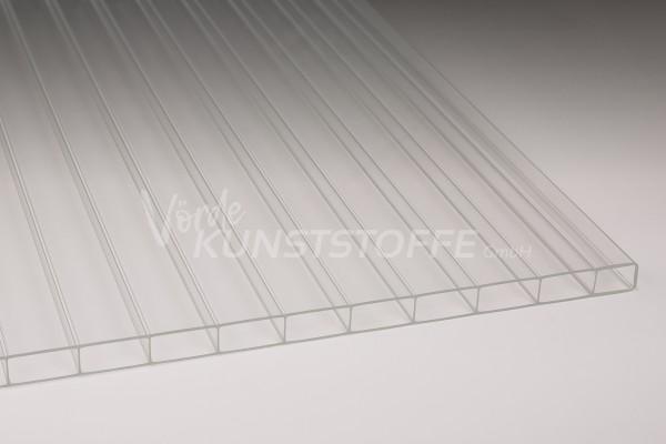 Stegplatten Acrylglas 16/32 farblos