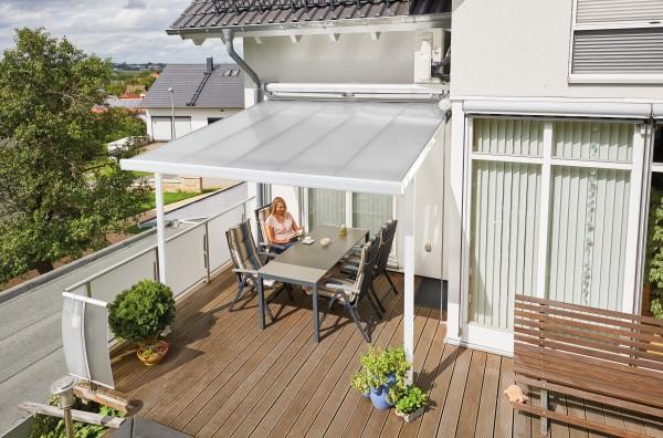 Alu-Terrassendach Terrassenüberdachung mit Stegplatten kaufen ...