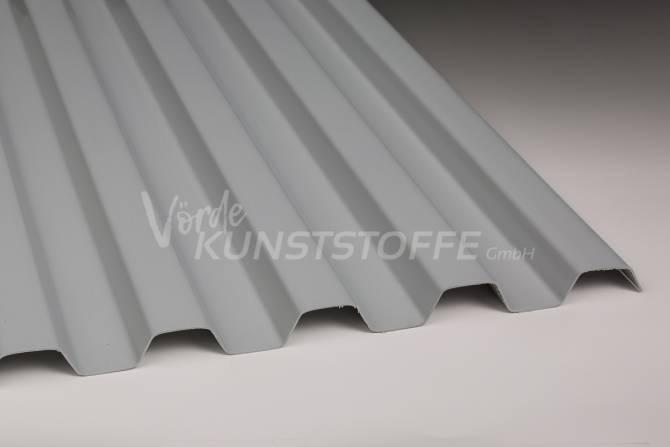 Sollux® Trapez 70/18 opak-grau