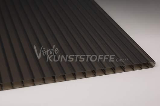 Stegplatten Polycarbonat 3-Fach bronze 16mm