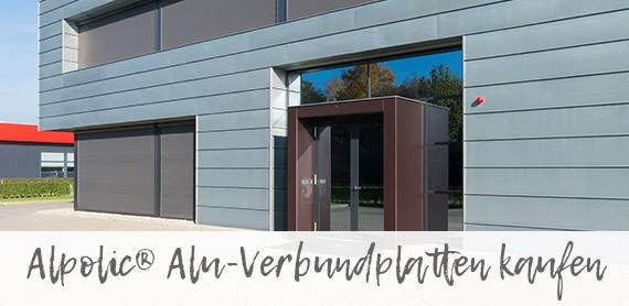 Alpolic® Alu-Verbundplatten online kaufen für Karlsruhe