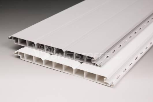 PVC-Paneele 16/200 grau