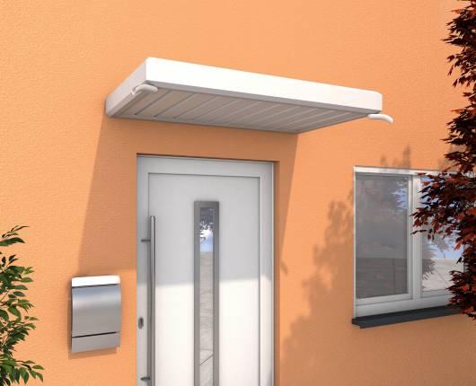 Rechteckvordach NM weiß - 1500x900x140mm