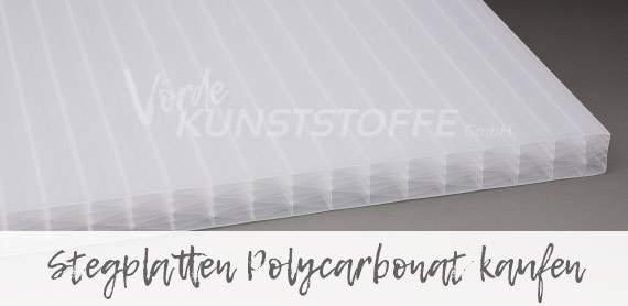 Polycarbonat Stegplatten online kaufen