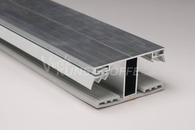 Alu-Stegmittelsystem für 16mm Stegplatten