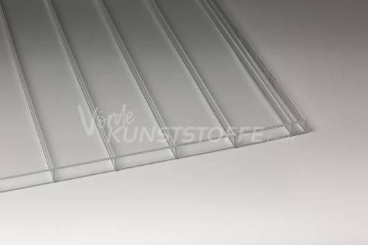 Stegplatten Plexiglas® SDP 16/64 ALLTOP farblos No Drop (Gewächshausplatte)