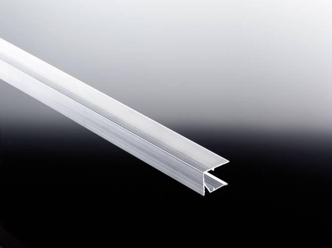 Alu-Tropfkantenprofil blank für 16mm Stegplatten