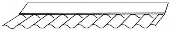 Maueranschluss trapez