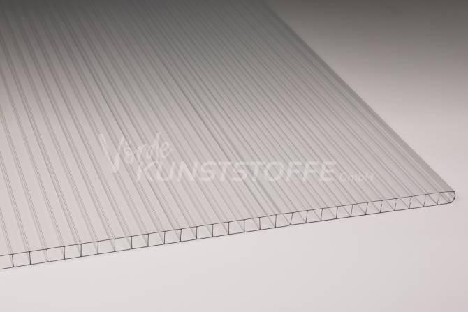 Stegplatten Polycarbonat farblos 4mm