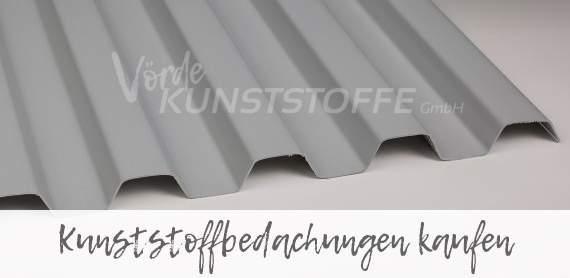 Das moderne Plastikdach