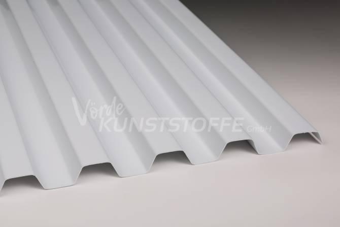 Sollux® Trapezplatten Lichtplatten 70/18 opak-weiss hagelsicher