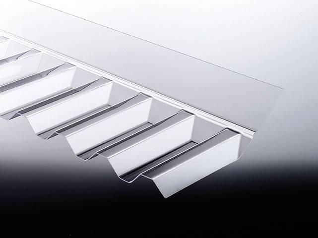 PVC Maueranschluss für Trapez 70/18