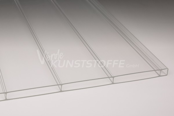 Stegplatten Acrylglas 16/96 Breitkammer farblos