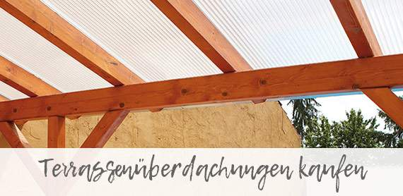Terrassenüberdachungen online kaufen für Augsburg