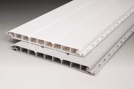 PVC-Paneele 16/200 weiss Wandpaneele Deckenpaneele