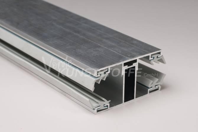 Alu-Stegrandsystem für 16mm Stegplatten